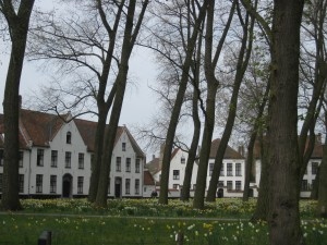 Beguinage in Brugges, Belgium, Photo by Elizabeth Duclos-Orsello
