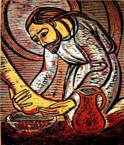 """Washing of the Feet"" by Sr. Mary Grace Thul, OP"